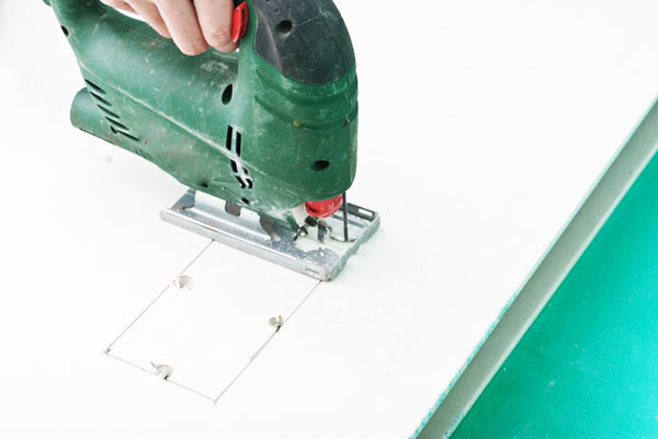 How To Cut A Square Hole In Drywall Fix