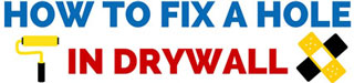 How to Fix a Hole in Drywall – Fixing Holes in Drywall