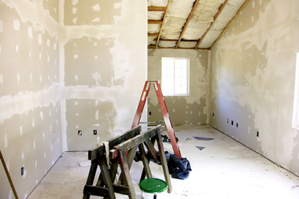 how to clean drywall dust from walls before painting