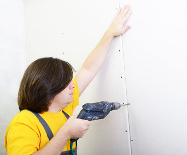 Drywall Time Cards : How to tape and mud drywall fix a hole in