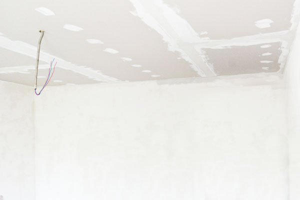 How To Drywall A Ceiling How To Fix A Hole In Drywall